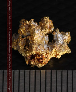 1.38gの小さいながらも立体感ある自然金-G0383-13