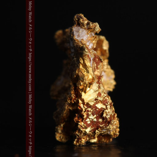 1.38gの小さいながらも立体感ある自然金-G0383-3