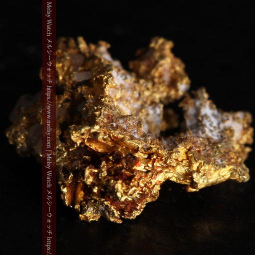 1.38gの小さいながらも立体感ある自然金-G0383-8
