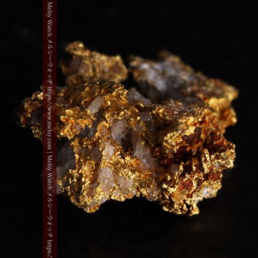 1.38gの小さいながらも立体感ある自然金-G0383-9
