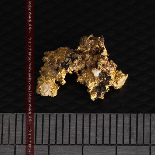 1.71gの小さな石英などを含む個性的な形の自然金-G0384-13