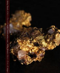 1.71gの小さな石英などを含む個性的な形の自然金-G0384-8