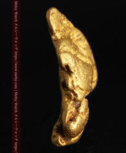1.89gの泳ぐ魚のような形の自然金-G0390-4