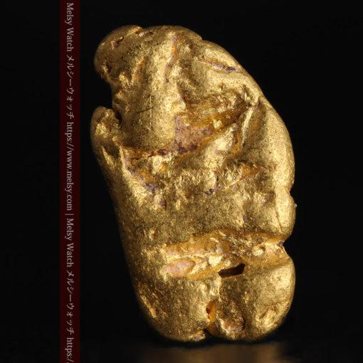 1.70gのうさぎ・モルモットのような形の自然金-G0391-1