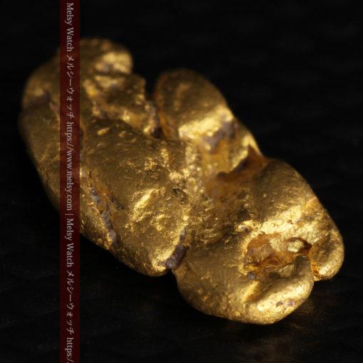 1.70gのうさぎ・モルモットのような形の自然金-G0391-10