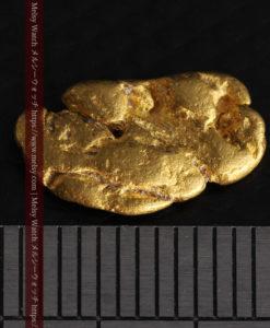 1.70gのうさぎ・モルモットのような形の自然金-G0391-13