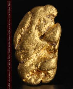 1.70gのうさぎ・モルモットのような形の自然金-G0391-2