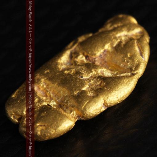 1.70gのうさぎ・モルモットのような形の自然金-G0391-5