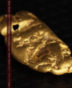 1.70gのうさぎ・モルモットのような形の自然金-G0391-6