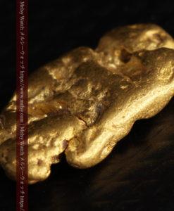1.70gのうさぎ・モルモットのような形の自然金-G0391-7