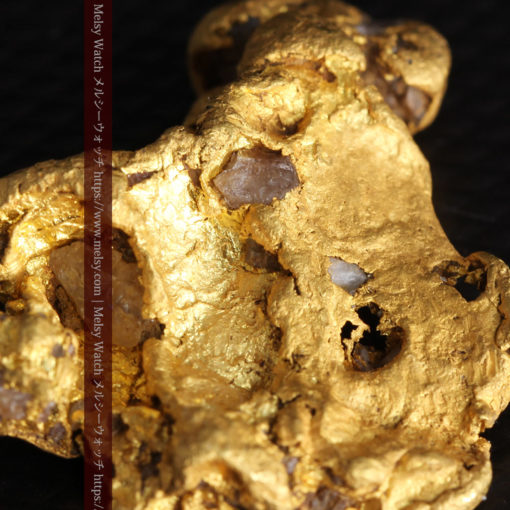 17.21gの見どころの多い大粒の自然金-G0393-1
