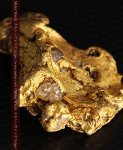 17.21gの見どころの多い大粒の自然金-G0393-10