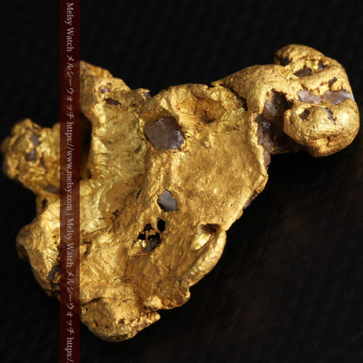 17.21gの見どころの多い大粒の自然金-G0393-12