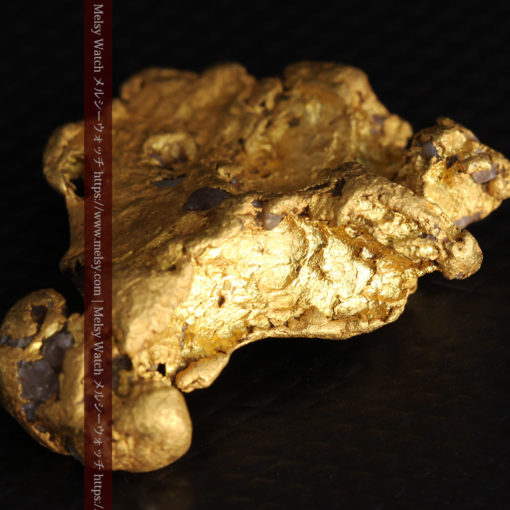 17.21gの見どころの多い大粒の自然金-G0393-14