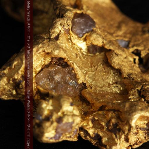 17.21gの見どころの多い大粒の自然金-G0393-18