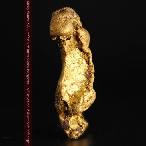 17.21gの見どころの多い大粒の自然金-G0393-5