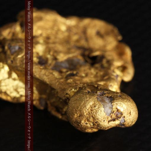 17.21gの見どころの多い大粒の自然金-G0393-7