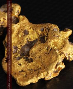 17.21gの見どころの多い大粒の自然金-G0393-9