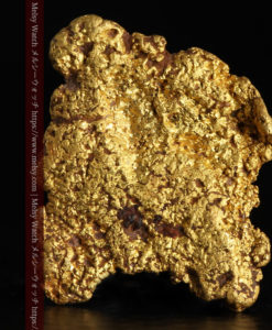 1.72gの薄めで平らな自然金-G0397-1