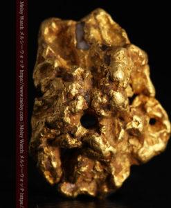 7.33gの非常にダイナミックで魅力のある形の自然金-G0398-2