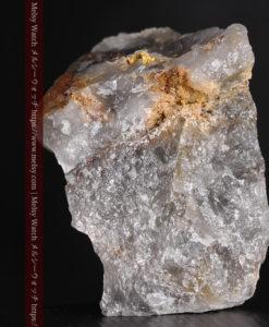 49gの三角柱のような形をした石英に見える自然金-G0402-5