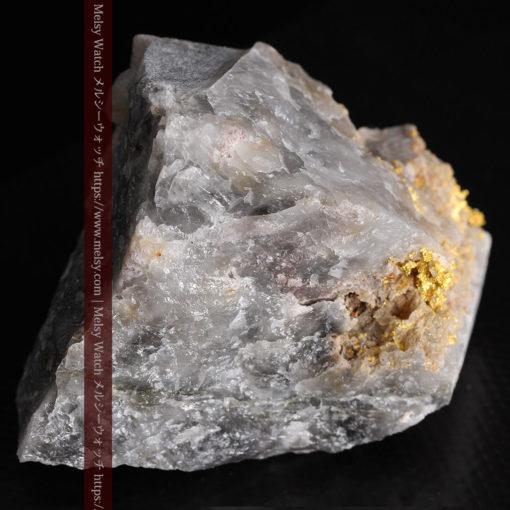 72gの大きな石英の中を通る自然金-G0403-10