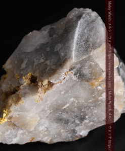 72gの大きな石英の中を通る自然金-G0403-11