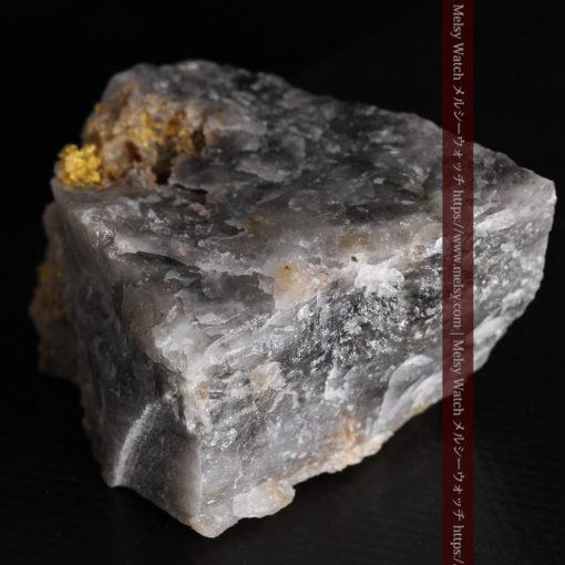 72gの大きな石英の中を通る自然金-G0403-12