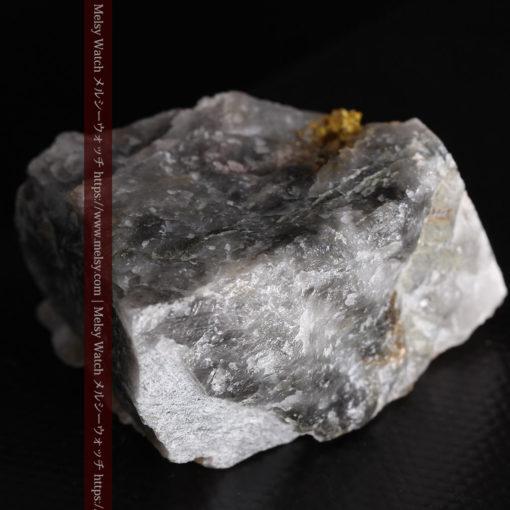 72gの大きな石英の中を通る自然金-G0403-13