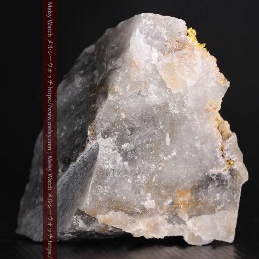 72gの大きな石英の中を通る自然金-G0403-5