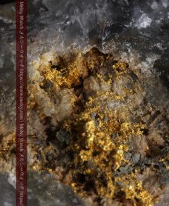 111gの形の良い非常に大きな石英と楽しむ自然金-G0404-2