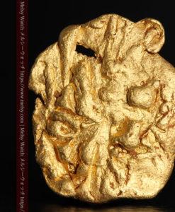 2.80gの古代金貨のような形をしている自然金-G0409-1