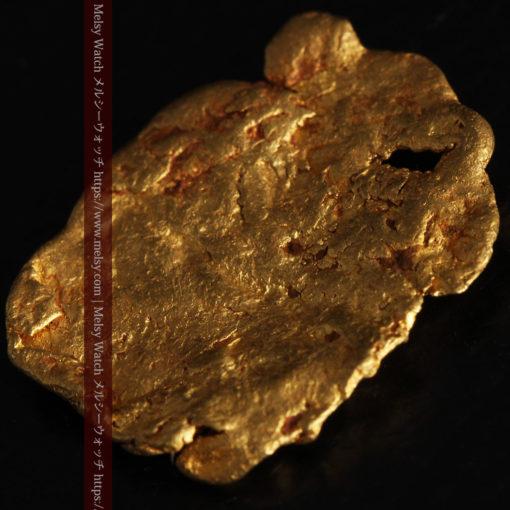 2.80gの古代金貨のような形をしている自然金-G0409-10