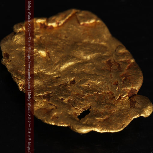 2.80gの古代金貨のような形をしている自然金-G0409-11