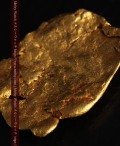 2.80gの古代金貨のような形をしている自然金-G0409-12