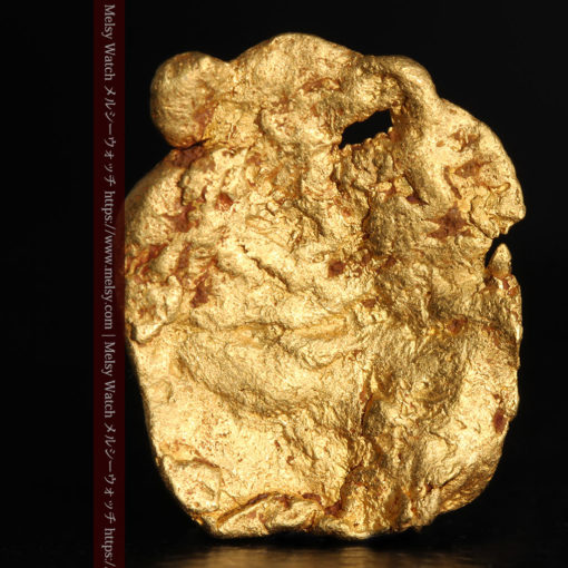 2.80gの古代金貨のような形をしている自然金-G0409-2
