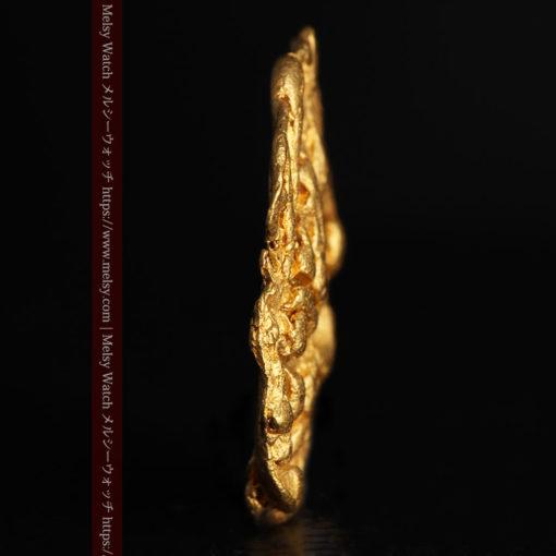 2.80gの古代金貨のような形をしている自然金-G0409-3