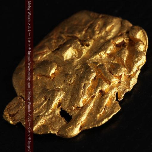 2.80gの古代金貨のような形をしている自然金-G0409-5