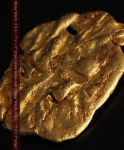 2.80gの古代金貨のような形をしている自然金-G0409-6