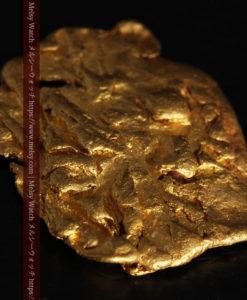 2.80gの古代金貨のような形をしている自然金-G0409-8