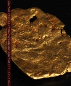 2.80gの古代金貨のような形をしている自然金-G0409-9