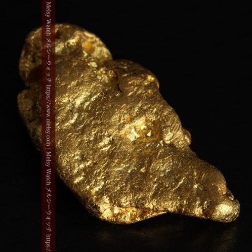 3.42gの綺麗な色合いの程よい大きさの自然金-G0410-10