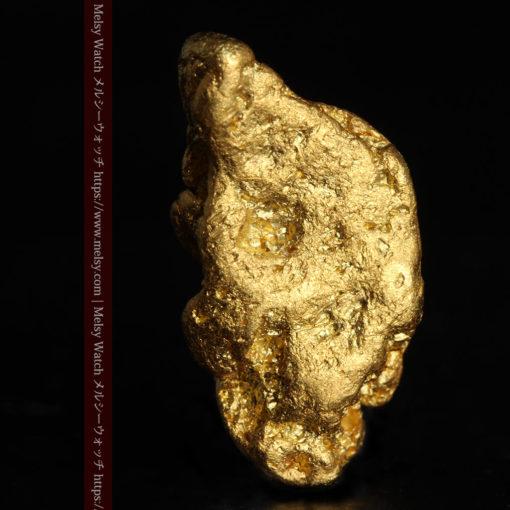 3.42gの綺麗な色合いの程よい大きさの自然金-G0410-2