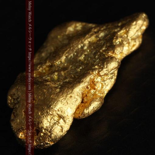 3.42gの綺麗な色合いの程よい大きさの自然金-G0410-6