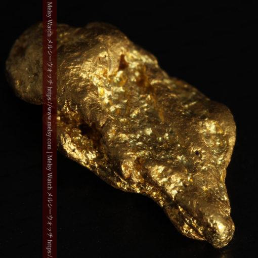3.42gの綺麗な色合いの程よい大きさの自然金-G0410-7