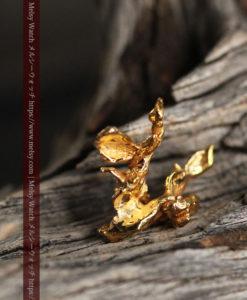 1.45gの綺麗に広がる磨かれた自然金-G0412-2