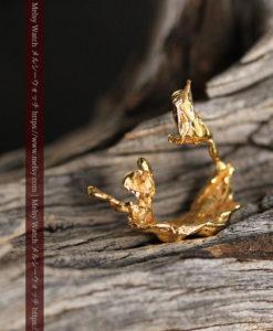 1.09gの帆船のような形をしている磨かれた繊細な自然金-G0413-1
