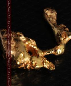 4.18gの個性的なアヒルのような形の磨かれた自然金-G0415-10