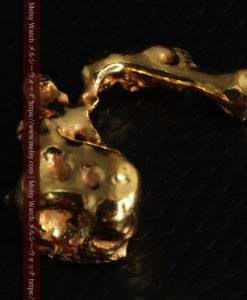 4.18gの個性的なアヒルのような形の磨かれた自然金-G0415-11