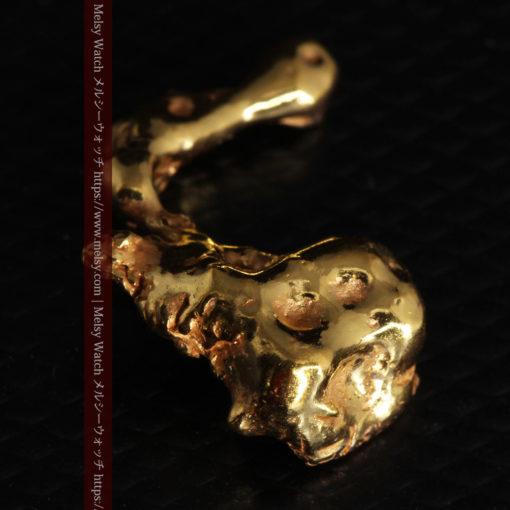 4.18gの個性的なアヒルのような形の磨かれた自然金-G0415-14